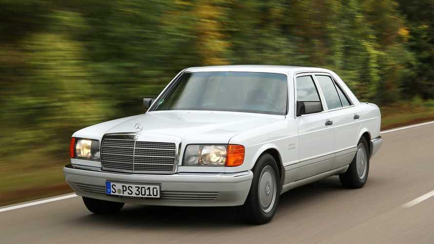Unterwegs im Mercedes 300 SE (W126)