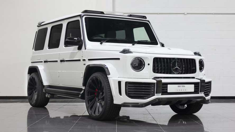 Widebody 2019 Mercedes-AMG G63 is an ode to carbon fibre