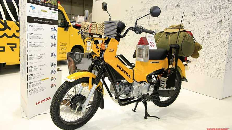 Honda Cross Cub Custom Off Road Fishing Bike