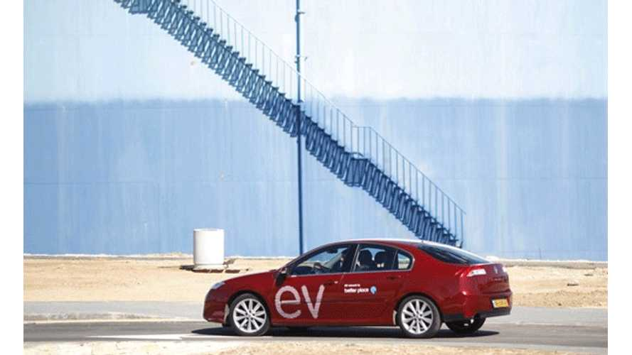 Better Place Finally Launches EV Battery Swapping Network in Israel