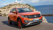 vw t cross 2019 test