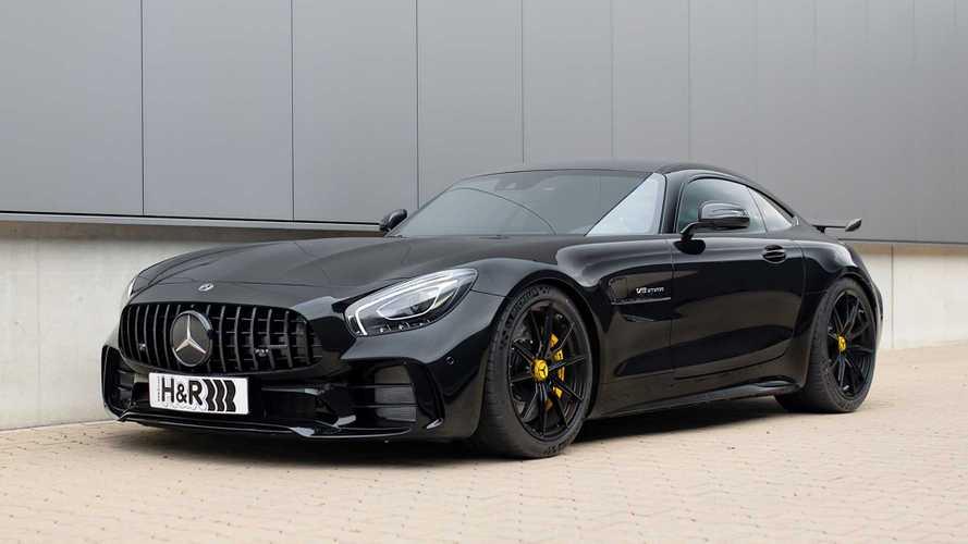 Mercedes AMG GT-R mit H&R-Sportfedern