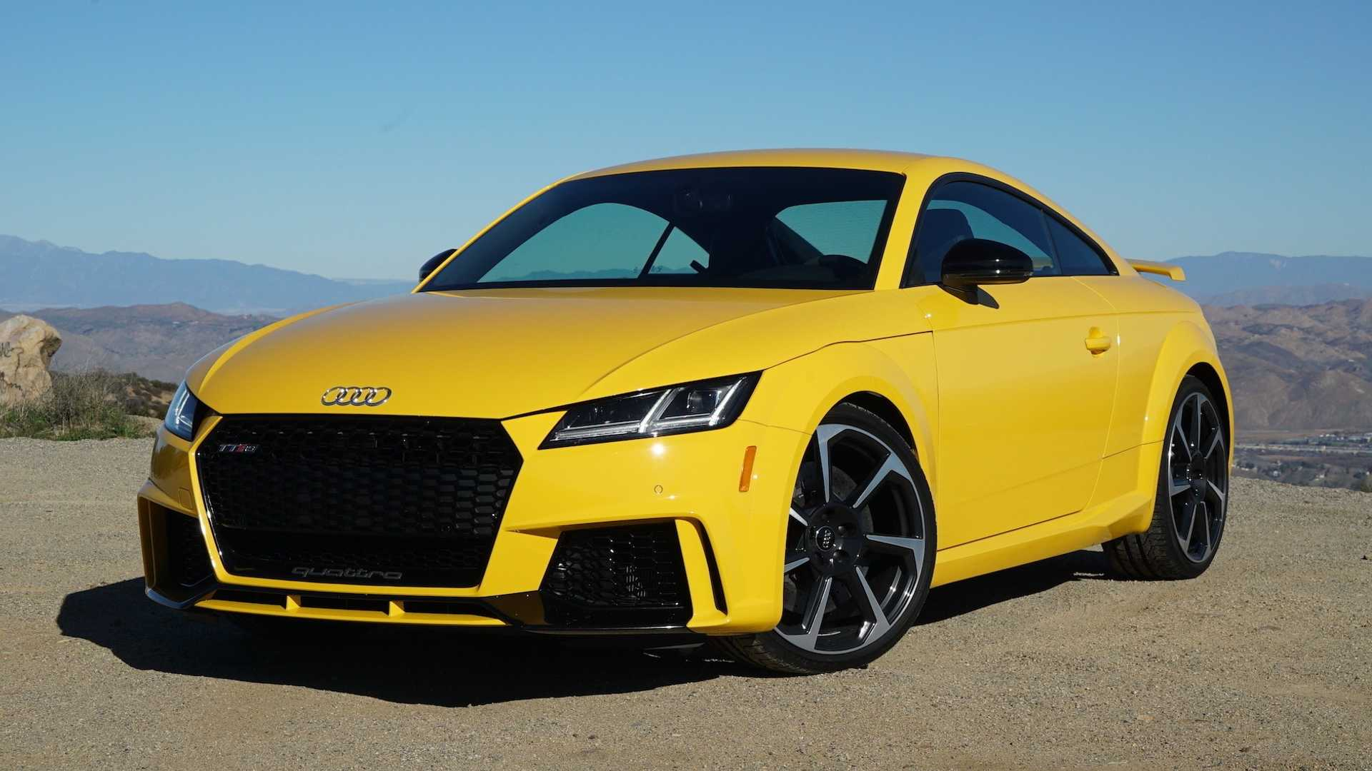2018 Audi TT RS Coupe Review: Starter Supercar