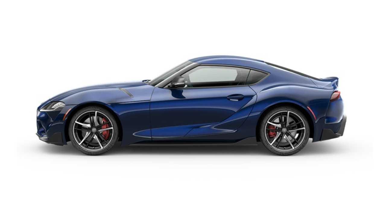 Toyota Supra Blue