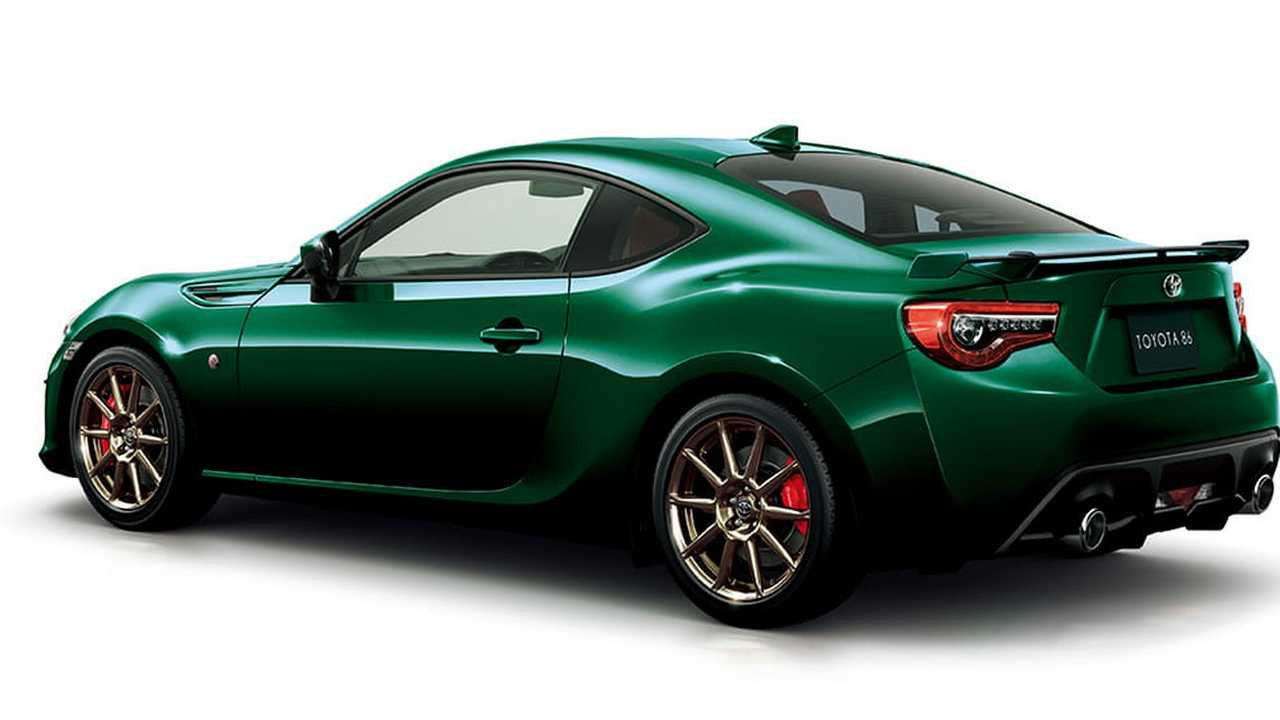 Toyota 86 British Green Limited