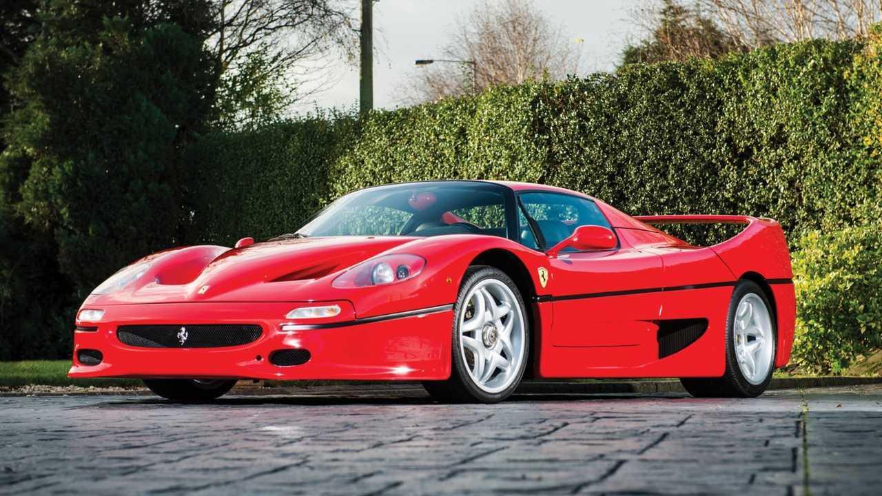 9. 1996 Ferrari F50 — $1.9 Million