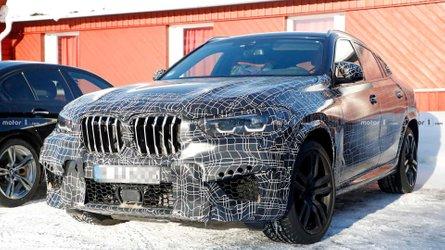 2021 BMW X6 M interior details photographed