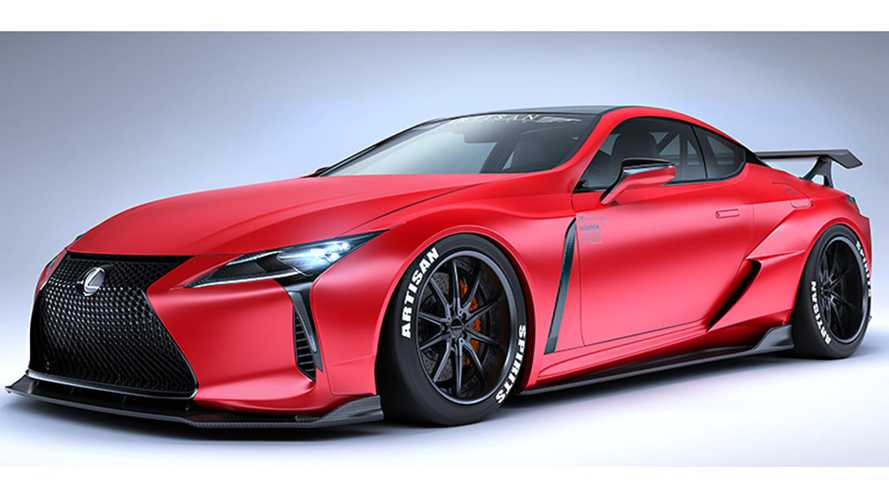 Lexus LC Artisan Spirits Body Kit
