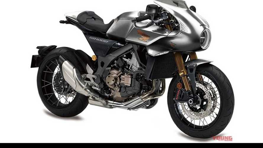 Honda Working On A Twin-Powered Café Racer?
