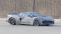 2020 Mid-Engined Corvette Spy Photo