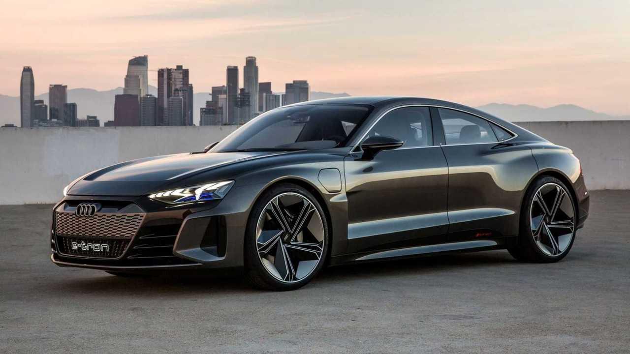 Audi e-tron GT Debut