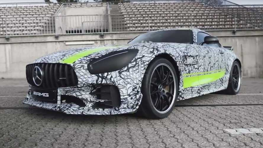 Mercedes-AMG GT R PRO Teased Ahead Of Tomorrow's Big Debut