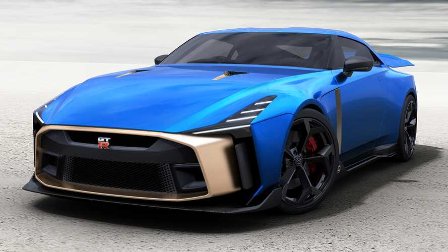 Nissan GT-R50 by Italdesign, production design