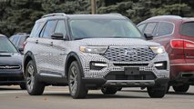 2020 Ford Explorer Platinum spy shots | Motor1.com Photos