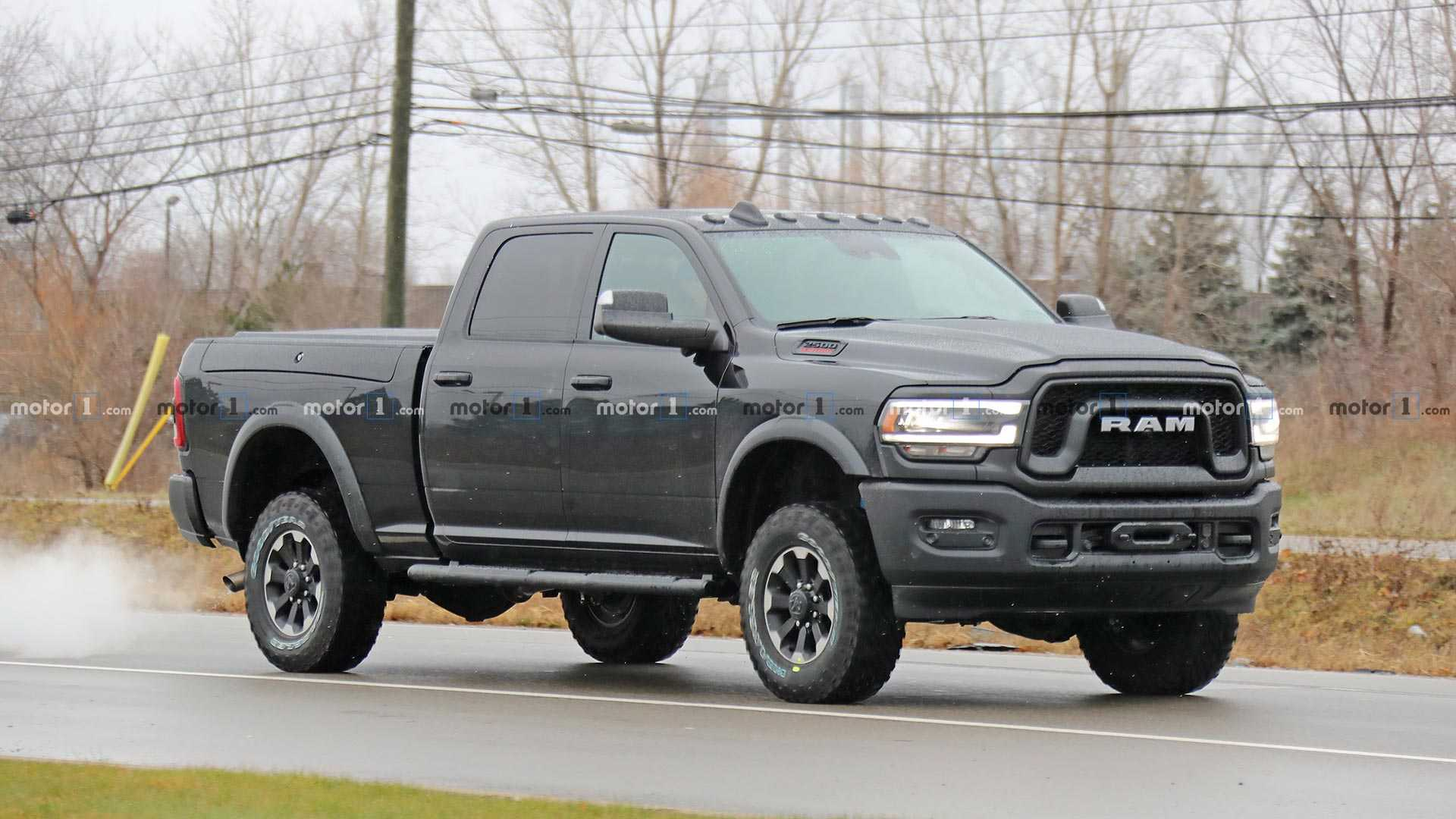 2020 Ram Power Wagon Spied Completely Undisguised