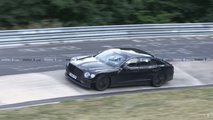 Bentley Flying Spur Spy Shot