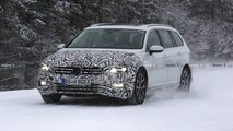 2019 VW Passat facelift (Euro Spec)  spy photo