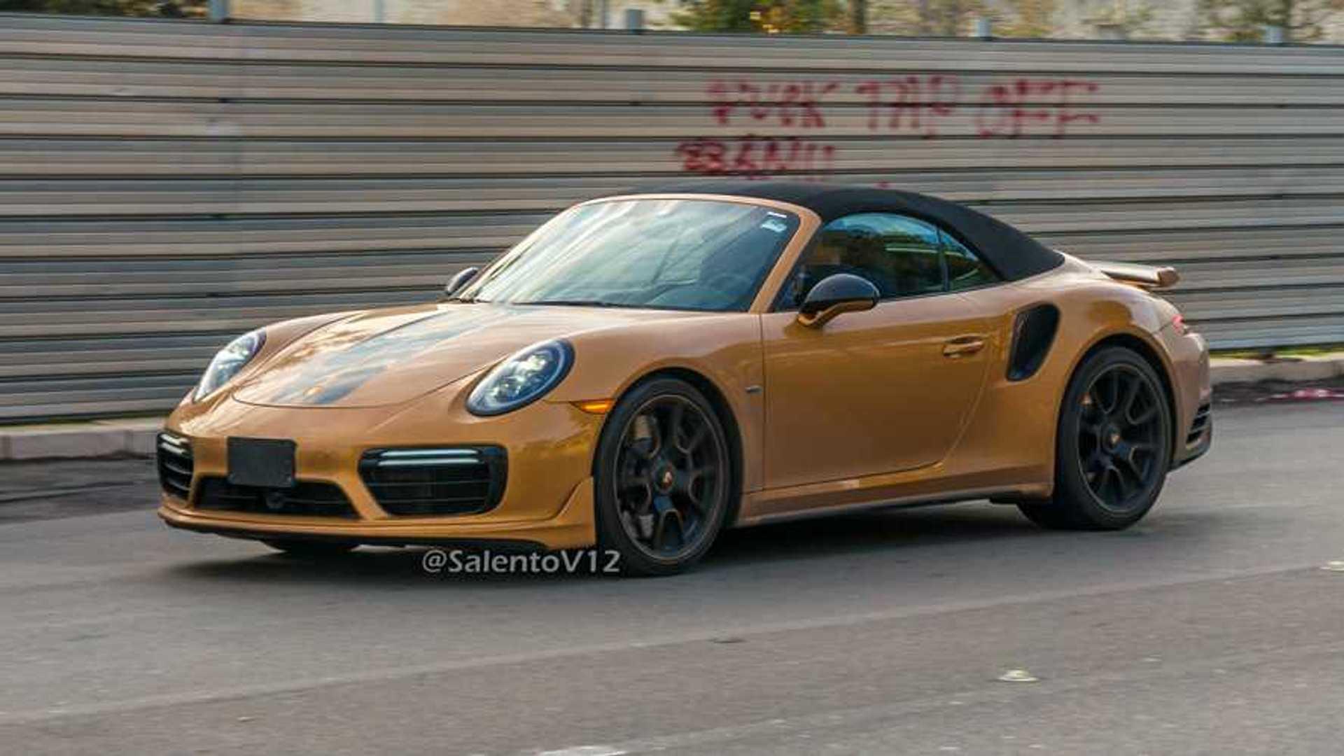Porsche Usa Build >> Porsche Built A 911 Turbo S Exclusive Series Cabrio Update