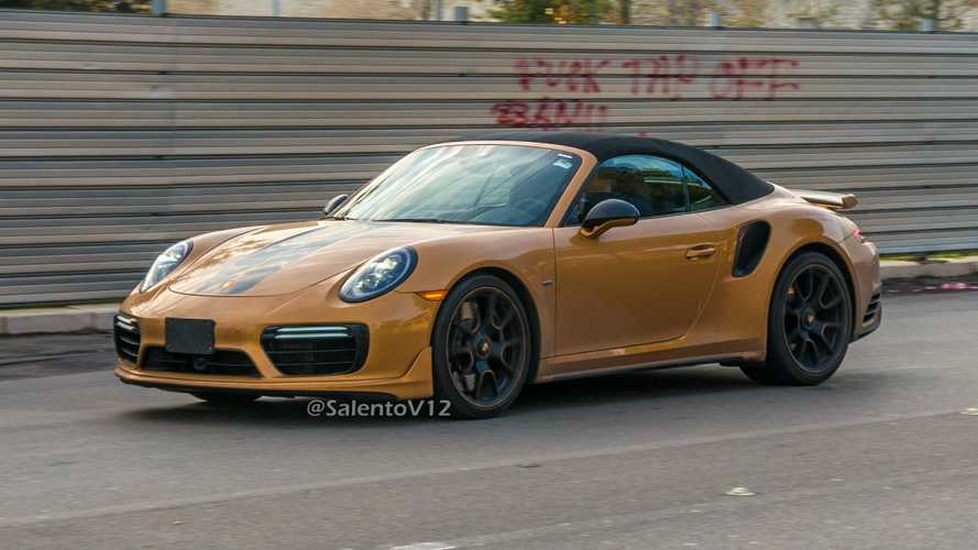 Porsche built a cabrio 911 Turbo S Exclusive Series?