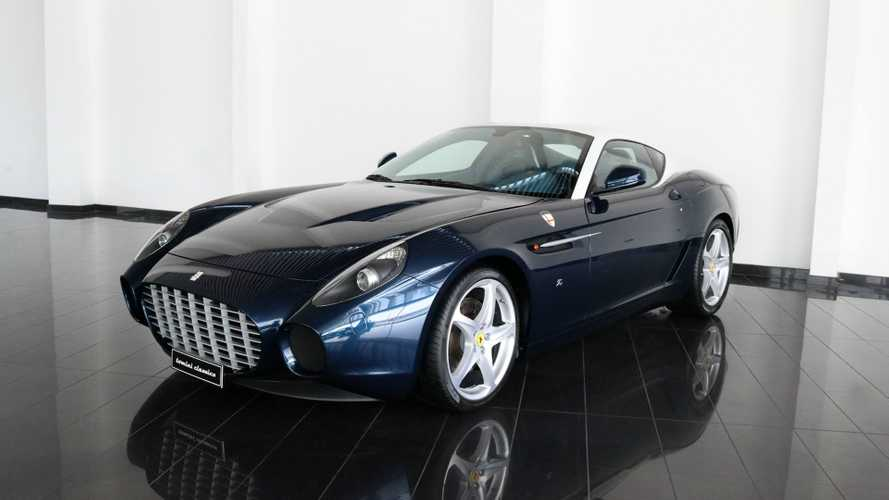 Check Out The 1-Of-1 Manual Ferrari 599 GTZ Nibbio Zagato