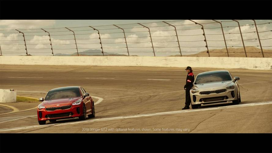 Fittipaldi pilotará o Kia Stinger em comercial do Super Bowl