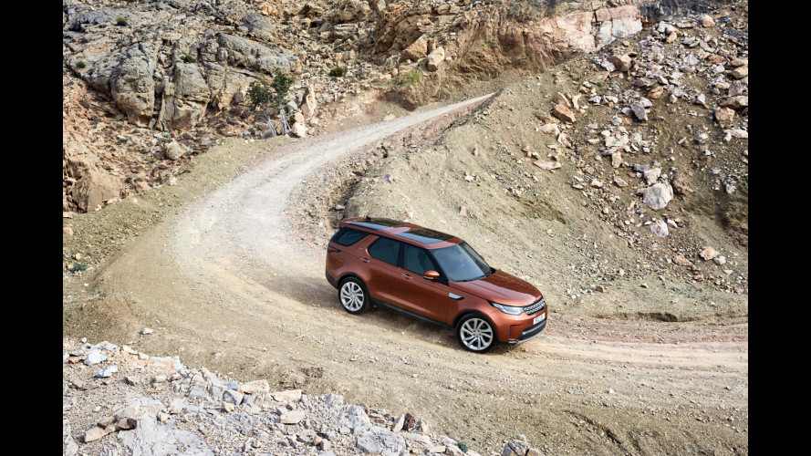 Nuova Land Rover Discovery, l'off road è hi-tech