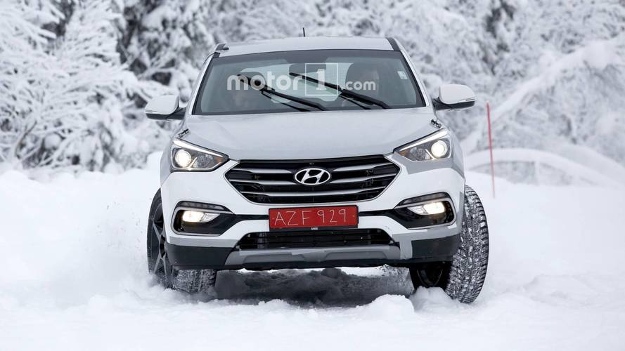 Genesis SUV test mule spy photos