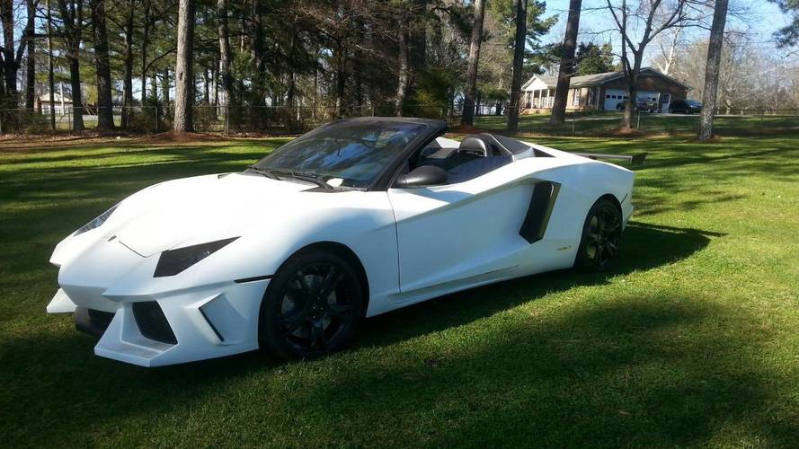 This Is Obviously Not Your Typical Lamborghini Aventador Roadster