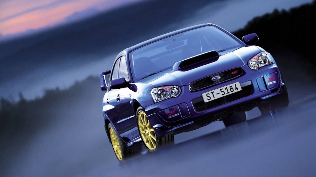Subaru Impreza WRX STI Petter Solberg