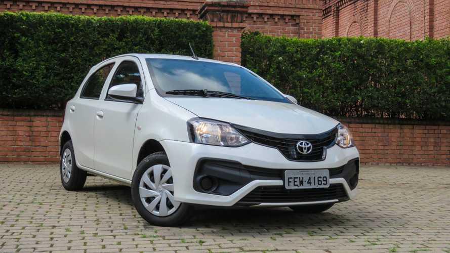 Toyota Etios 2020 aparece no site da marca; e mais caro