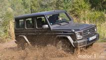 Mercedes G-Class comparison