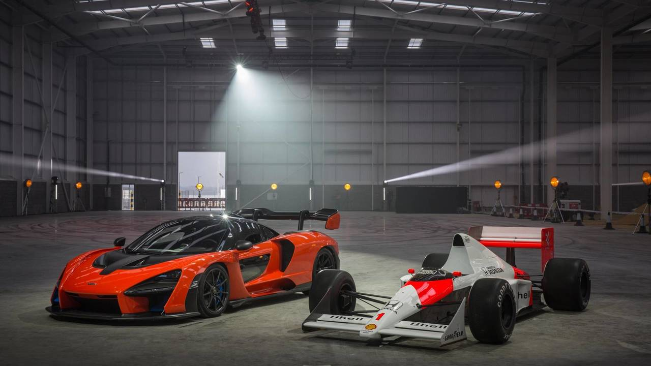 McLaren Senna at the MCTC