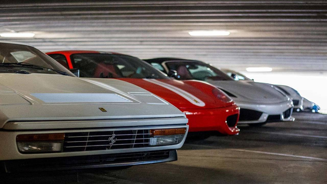 Parking Garage Car Collection