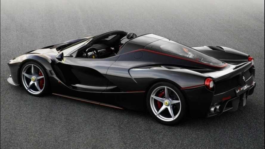 Ferrari, LaFerrari Aperta stupisce il mondo