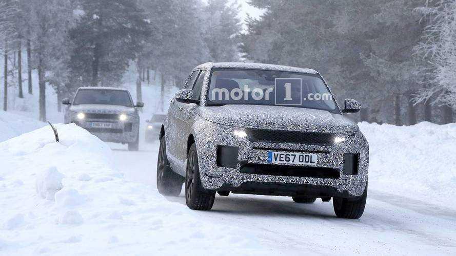 Range Rover Evoque 2018, ¿un Velar a escala? (actualizado con vídeo)