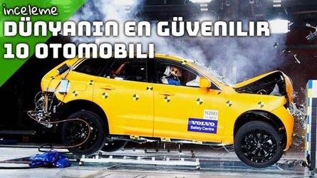 2017'nin en güvenli 10 otomobili