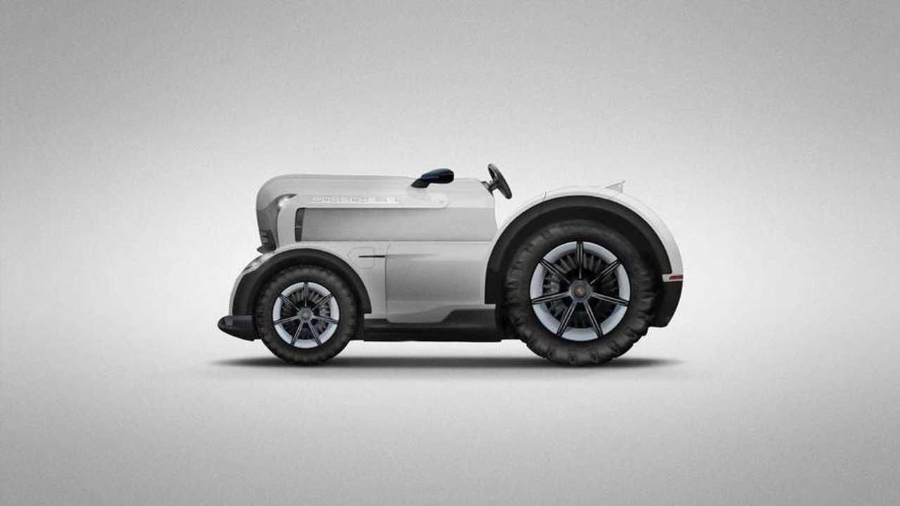 Porsche Mission E Tractor