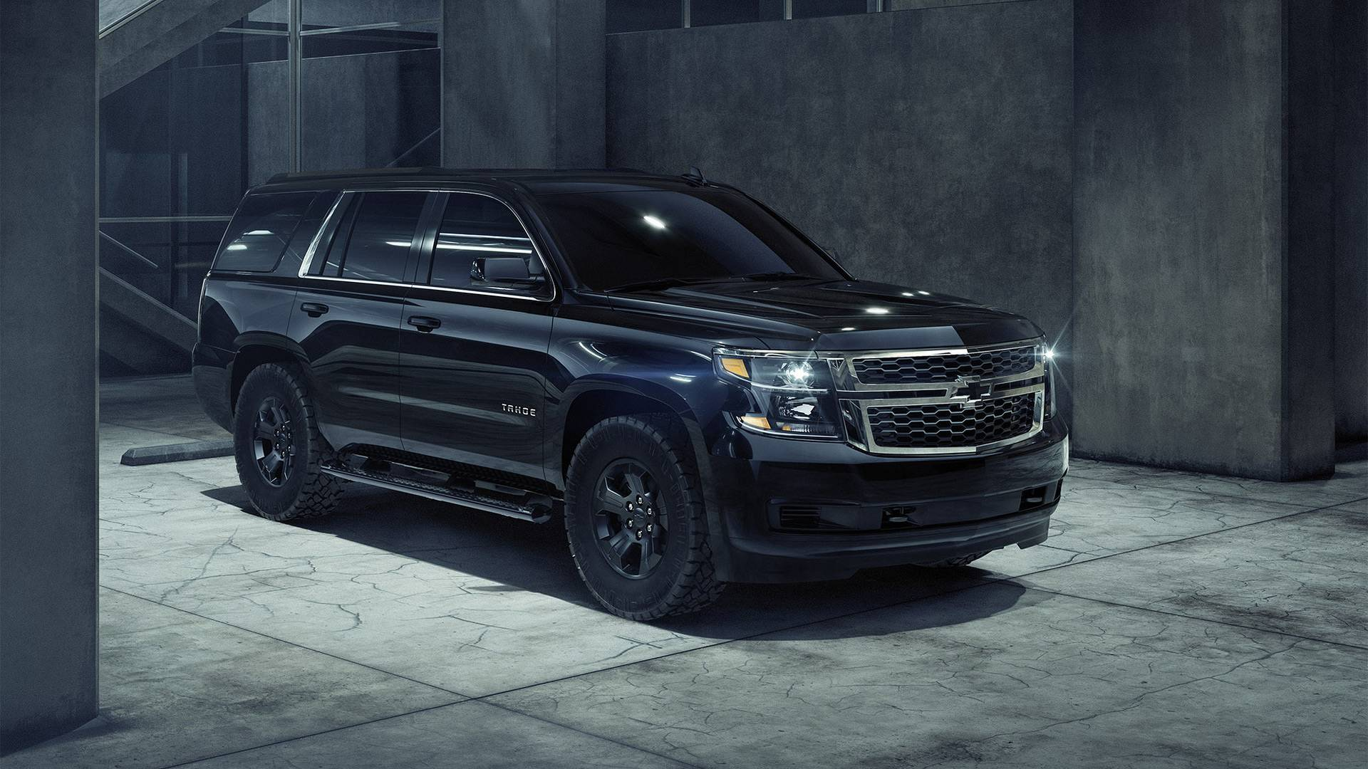Custom Chevy Tahoe >> Chevrolet Tahoe Custom Gets Sinister With Midnight Edition Pack