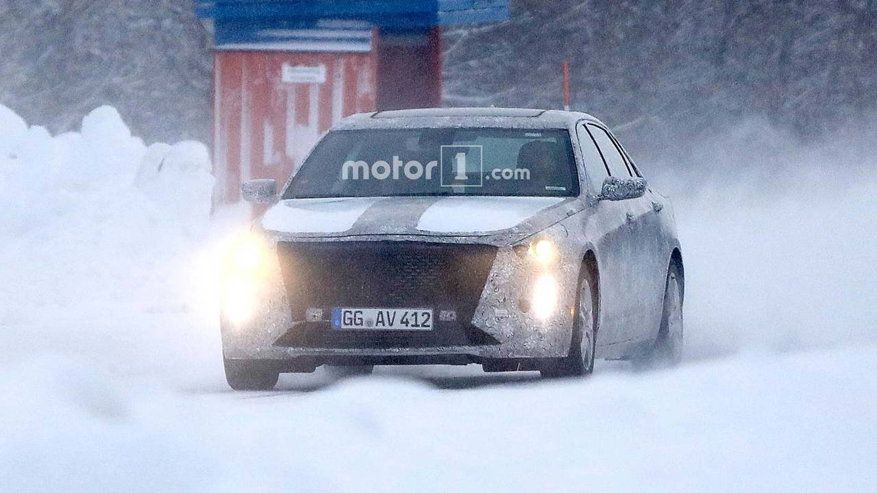 2019 Cadillac CT6 Spy Photo