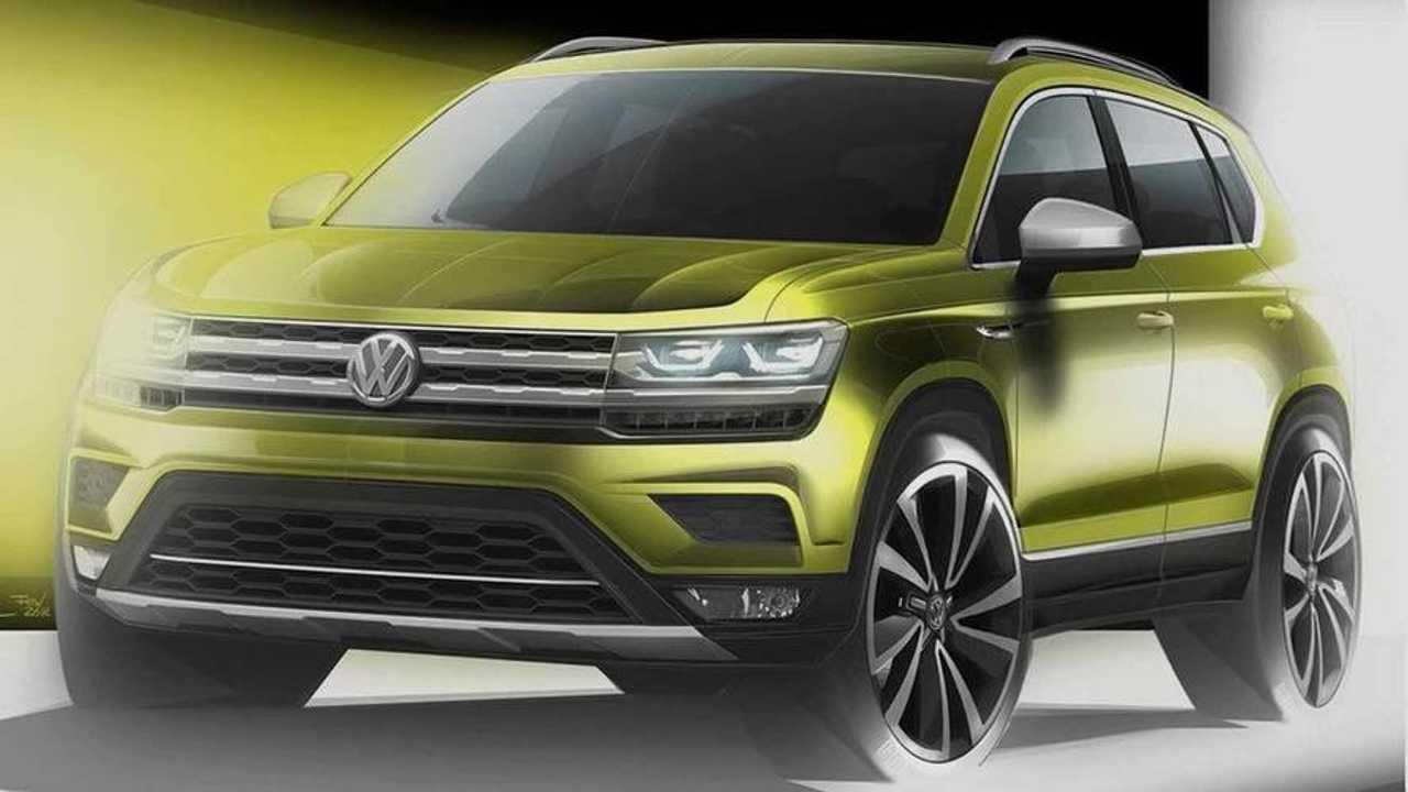 VW Volks-SUV Teaser