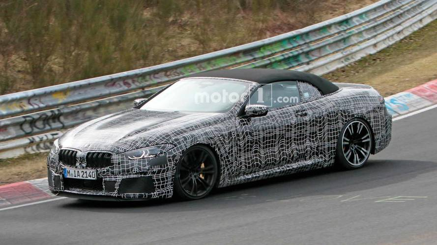 BMW M8 Convertible Spy Shots