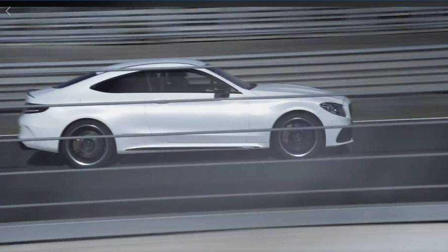 Mercedes-AMG donne un aperçu de la C 63 S Coupe restylée