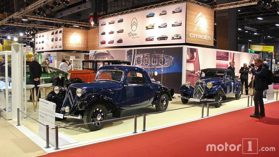 PHOTOS - Citroën et DS au Salon Rétromobile 2018