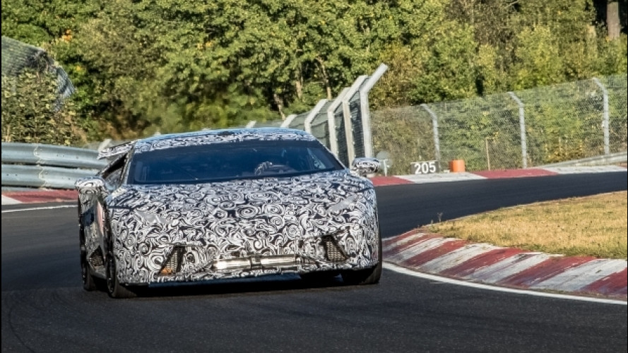 Lamborghini Huracán Performante, è già record al Nurburgring [VIDEO]