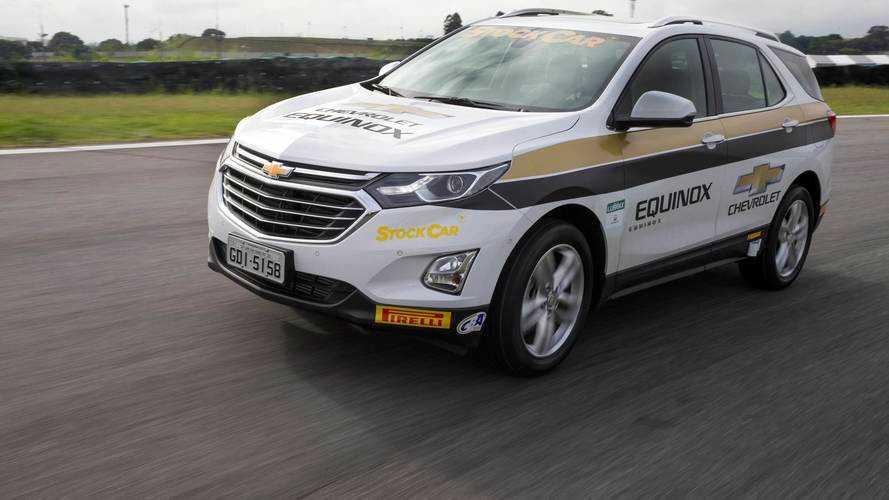 Chevrolet Equinox é o primeiro SUV a ser pace-car oficial da Stock Car