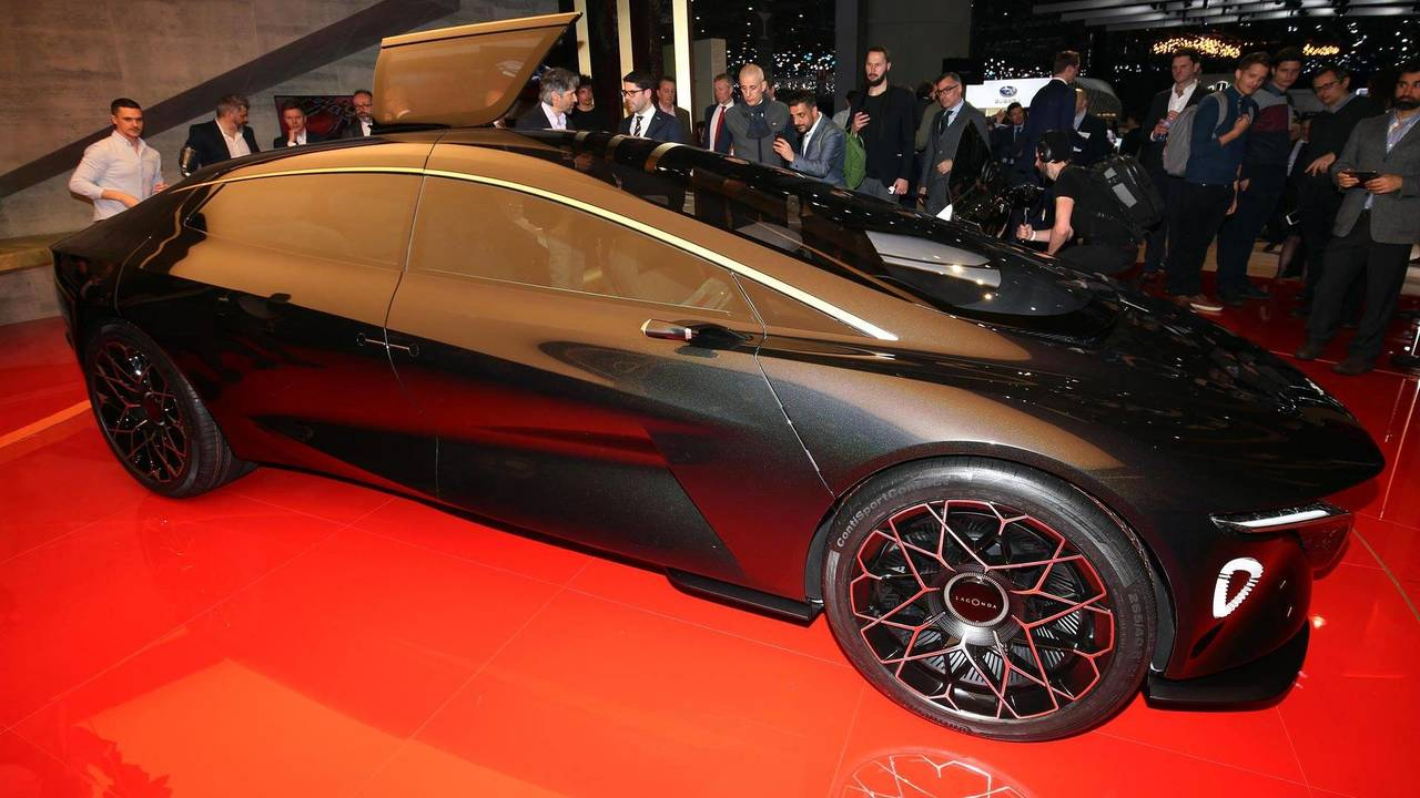 Aston Martin Lagonda Vision Points To Luxurious Electric Future - Aston martin concept