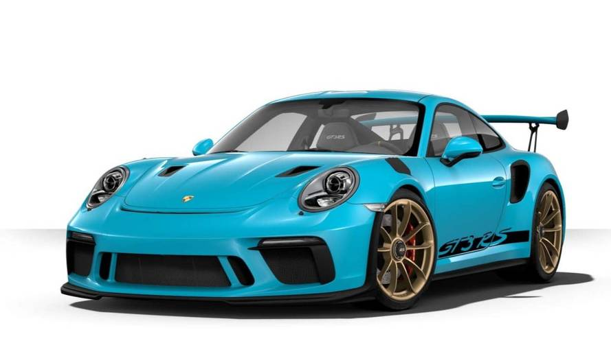 Porsche 911 GT3 RS Configurator Options