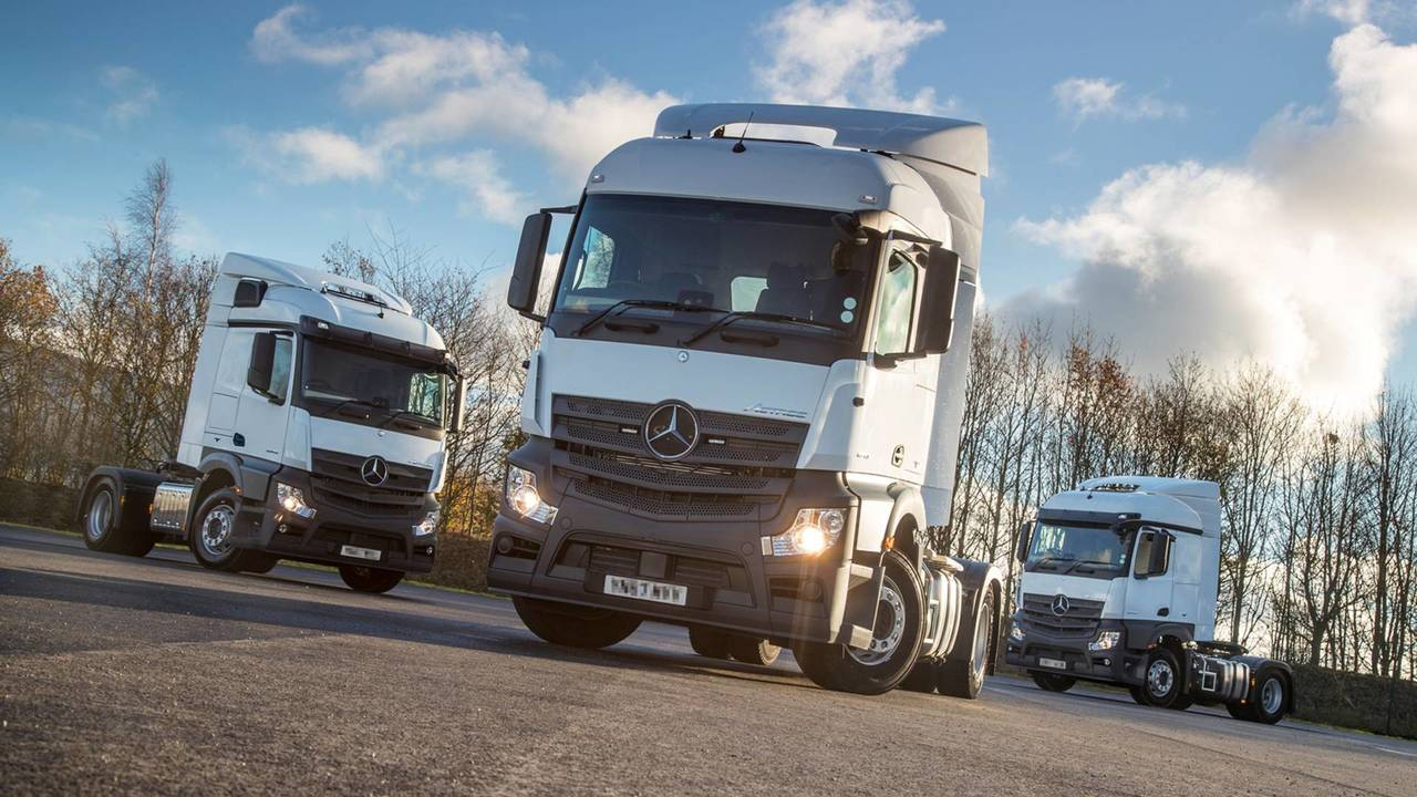 Police Unmarked Supercab HGVs