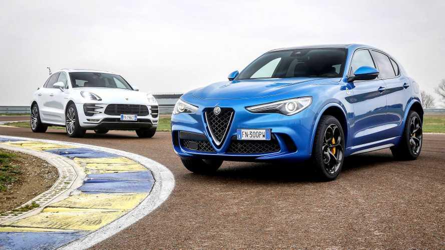 Alfa Romeo Stelvio Quadrifoglio vs. Porsche Macan Turbo: Serious SUVs