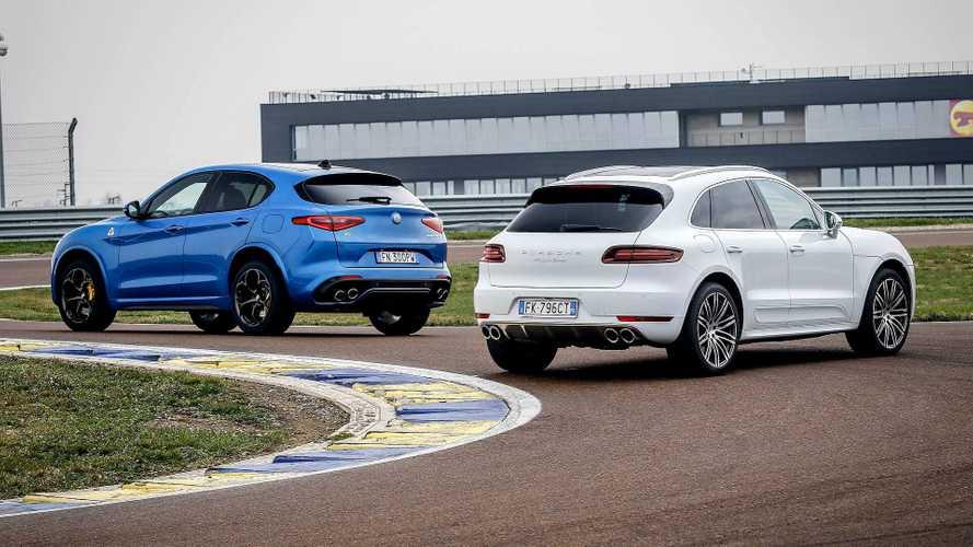 Alfa Romeo Stelvio QV und Porsche Macan Turbo PP im Vergleichstest